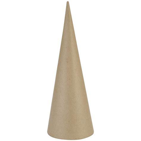 Paper Cones - paper mache cone jo