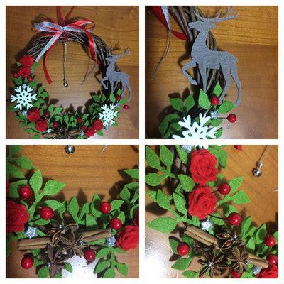decorazione porta natale ghirlanda natalizia decorazione natalizia fuori porta