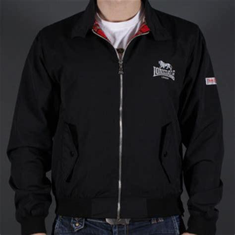 Jaket Forwad Harrington Black lonsdale harrington jacket lonsdale black 110538 lonsdale