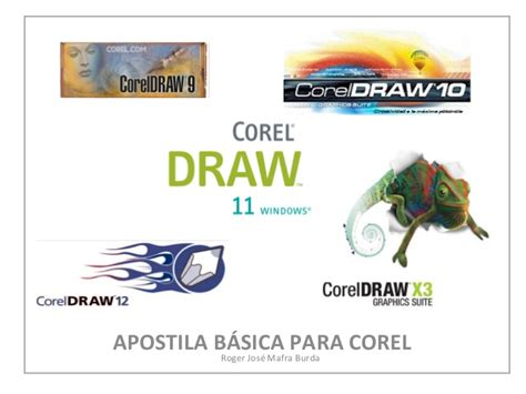 corel draw x7 apostila apostila do corel draw tutorial b 225 sico roger jos 233