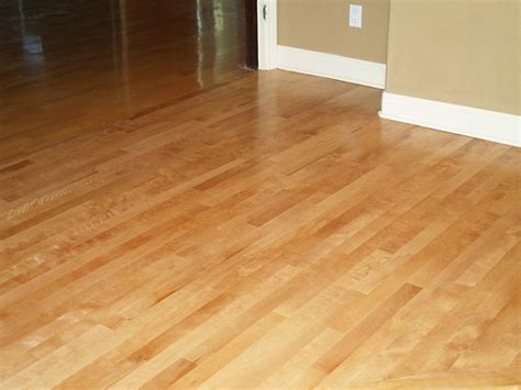 refinished maple wood floor custom stained flickr