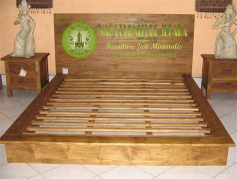 Tempat Tidur Kayu Jati Asli jual tempat tidur dipan minimalis kayu jati ukir murah
