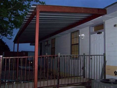 deck awnings prices commercial steel awning new braunfels texas carport