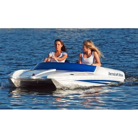 single person fishing boat electracrafts two person all electric boat boats