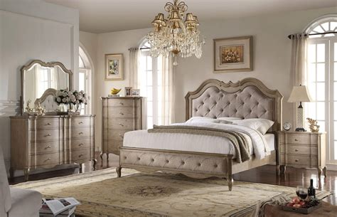Schlafzimmer Set Sale by 4 Acme Chelmsford Antique Taupe Bedroom Set