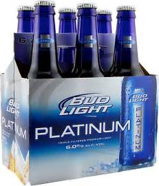 how much is a of bud light the inevitable appeal of bud light platinum the tangential