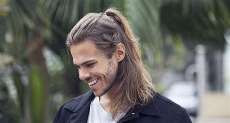 ponytail hairstyle men line up 15 ponytail hairstyles for men to look smart and stylish
