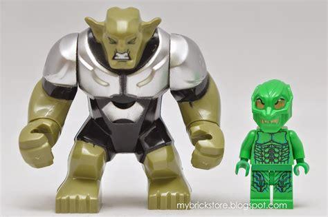 Decool 0183 Big Green Goblin Minifigure Lego Rmx8 my brick store green goblin by decool set number 0183