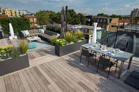 Terrasse Mit Dach by Bermondsey Roof Terrace Southwark In South