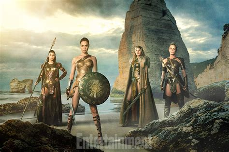 Wonder Woman Movie Cast Image Reveals Robin Wright   Collider