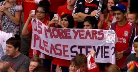 Dvd Liverpool Gerrard A Year In liverpool beat olympiacos in steven gerrard testimonial