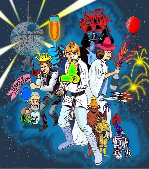 star wars year by 0241232414 feliz natal e ano novo atrasados novamente cast wars
