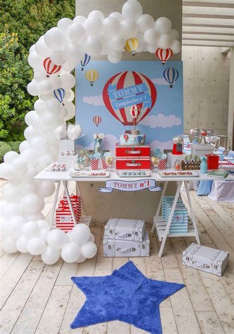 hot birthday themes kara s party ideas primary colors hot air balloon birthday