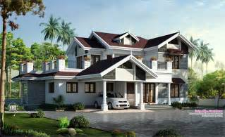 beautiful houses with floor plans beautiful villa design in 2750 sq feet kerala home design and floor plans