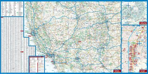 map of southwest united states map of southwest usa usa 2 borch map mapscompany