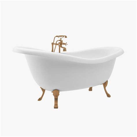 model bathtub vintage bath tub 3d model 19 max free3d