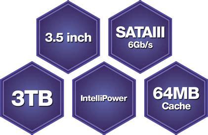 Dijamin Harddisk Wdc 3tb Sata 3 Purple Garansi Resmi 2 Tahun wd 3tb purple 3 5 quot sata3 cctv surveillance hdd drive wd30purx ln56219 scan uk