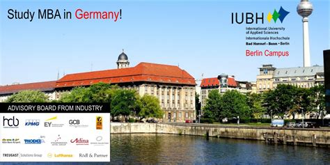 Mba Germany by Mba In Germany Admission To Iubh