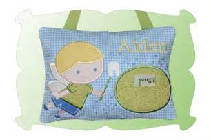 tooth pillow for boys in the hoop digistitches
