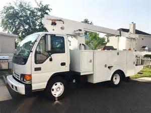 Isuzu Boom Truck Isuzu Npr 2002 Boom Trucks