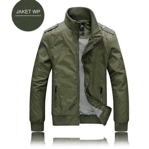 Jaket Parasut Lipat jaket wp hijau army polos murah promo pria gunung bagus