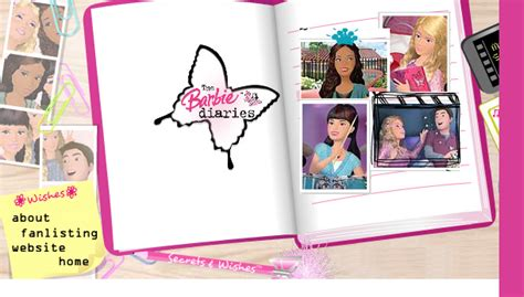 Layout Free what s really important the barbie diaries