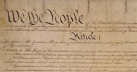 us constitution article 1 section 1 a small history of republicanism the american democratic
