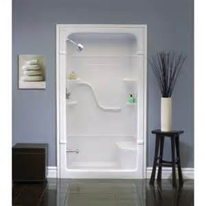one acrylic shower mirolin 48 inch 1 acrylic shower stall with