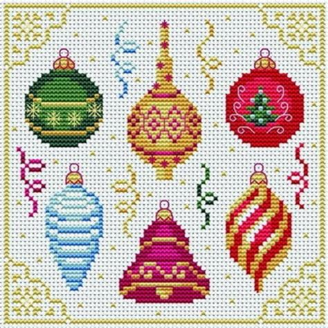 christmas decorations tons of free cross stitch patterns