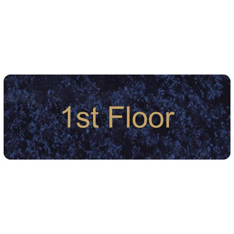 floor numbers 1st up to 99th engraved sign egre 250 gldoncblu