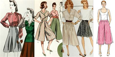 vogue pattern company history dating the inescapable unavoidable culotte past and present