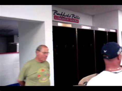 bills locker room buffalo bills locker room tour pre 2012