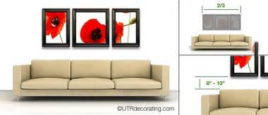 sofa easy tips to hang pictures above your sofa exactly