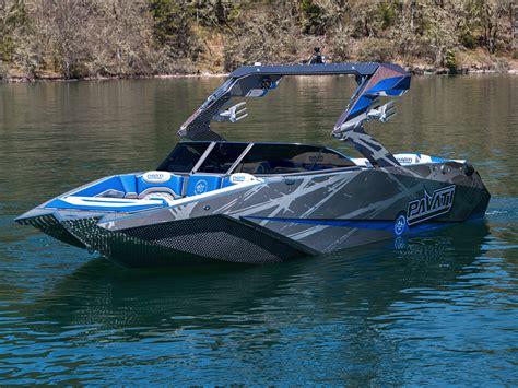 pavati boats wakeboard pavati al24 wake boat 100 aluminum wake boat