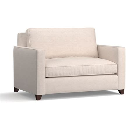 sleeper armchair cameron square arm upholstered twin armchair sleeper