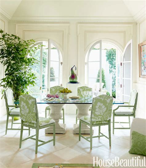 house beautiful dining rooms charming green dining room house beautiful