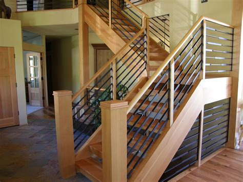 Custom Made Handrails crafted schofield handrail by shore iron works custommade