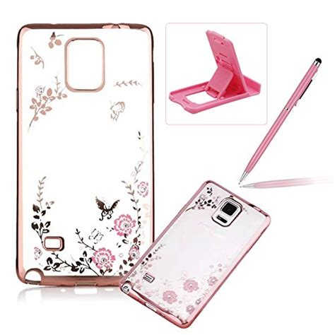 Samsung Galaxy Note 4 Flower Rubber Soft Silicon Cover electronics photo accessories find herzzer products