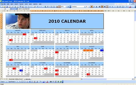 excel 2010 calendar template calendar excel how to calendar template 2016