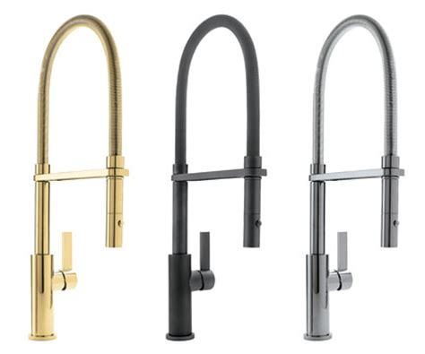 California Faucet Company by Corsano Culinary Faucet In Lifetimepolished Gold Pvd