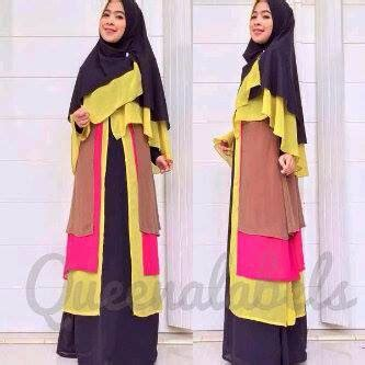 Gamis Ayou Mizzura New rumah savana new delisya syar i by queenalabels