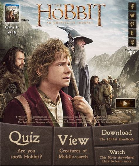 the hobbit the unexpected visitor by thintoons on 44 best contests giveaways and sweeptstakes images on giveaways movie covers and