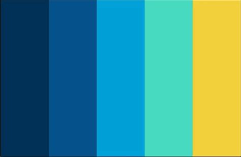 blue and yellow color scheme color scheme yellow sky blue navy clothing pinterest