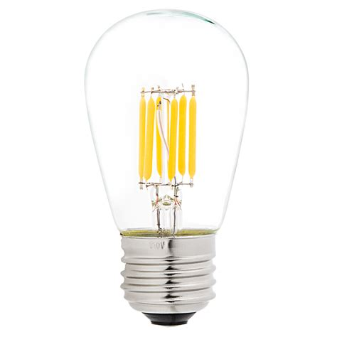 led vintage light bulb s14 led sign bulb w filament led