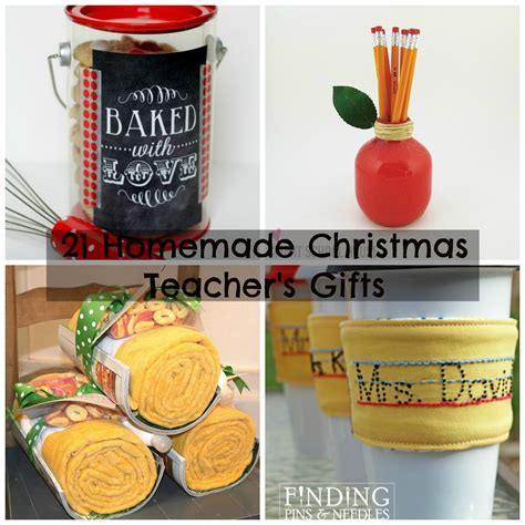 21 homemade christmas presents for teachers to get ready