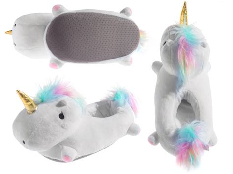 house shoes with lights light up unicorn slippers cozy colorful slippers with led lights
