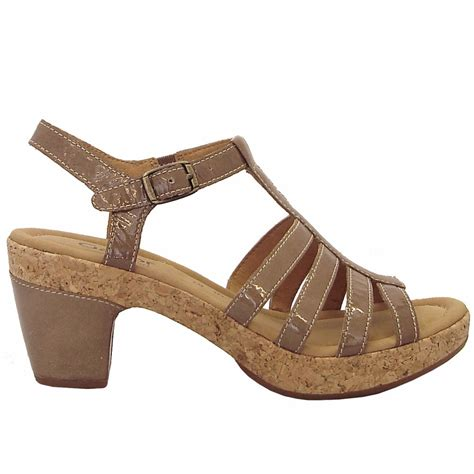 taupe sandals gabor shoes impression wide fitting sandal shoe in taupe