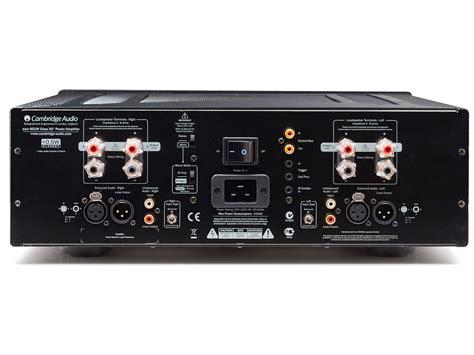 cambridge audio 851w stereo power lifier west coast hi fi