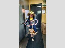 Women's DIY Scarecrow Halloween Costume | Halloween ... Girl Scarecrow Costume