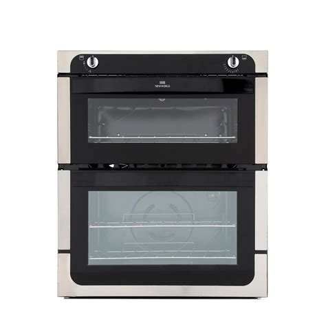 Oven Gas Built In new world 701g stainless steel built gas oven